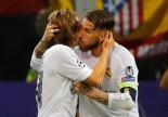 The Pony celebrates with Modric
