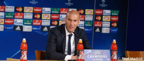 Zidane post match
