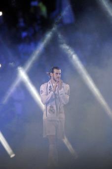 Bale in smoke