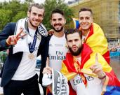 Bale Isco Nacho Vazquez