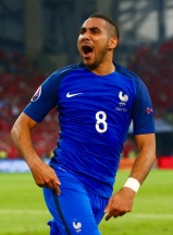 MARSEILLE, FRANCE - JUNE 15: Dimitri Payet of France celebrates after he scored his sides second goal during the UEFA EURO 2016 Group A match between France and Albania at Stade Velodrome on June 15, 2016 in Marseille, France. (Photo by Jan Kruger - UEFA/UEFA via Getty Images)