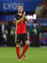 LYON, FRANCE - JUNE 13: Eden Hazard of Belgium applauds after the UEFA EURO 2016 Group E match between Belgium and Italy at Stade des Lumieres on June 13, 2016 in Lyon, France. (Photo by Catherine Ivill - AMA/Getty Images)