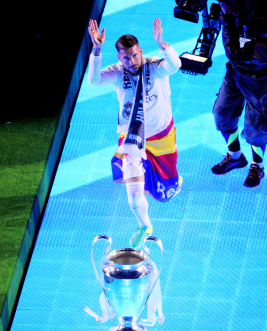 Sergio glowing
