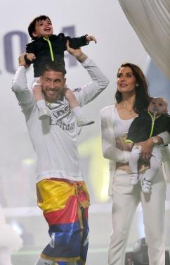The whole Ramos family