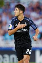 Asensio celebrates