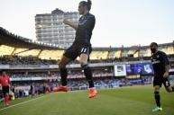 Gareth celebrates
