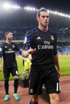Gareth warmed up