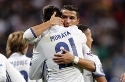 MADRID, SPAIN - SEPTEMBER 14: ... of Real Madrid ... during the UEFA Champions League Group F match between Real Madrid CF and Sporting Clube de Portugal on September 14, 2016 in Madrid, Spain. (Photo by Angel Martinez/Real Madrid via Getty Images)