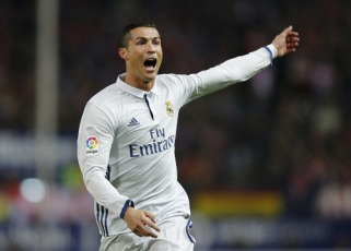 MADRID, SPAIN - NOVEMBER 19: ... of Real Madrid ... during the La Liga match between Club Atletico de Madrid and Real Madrid CF at Vicente Calderon Stadium on November 19, 2016 in Madrid, Spain. (Photo by Angel Martinez/Real Madrid via Getty Images)