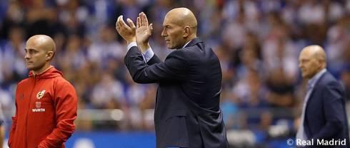 Zidane post match